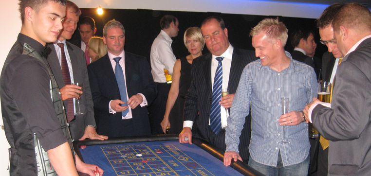 Casino evening - organised entertainment