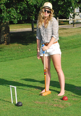 activity days - crazy croquet