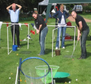Activity days - crazy golf