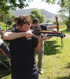 activity days - crossbow shooting