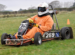 Grass Karting - go-kart rallying