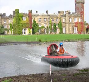 activity days - Hovercraft driving