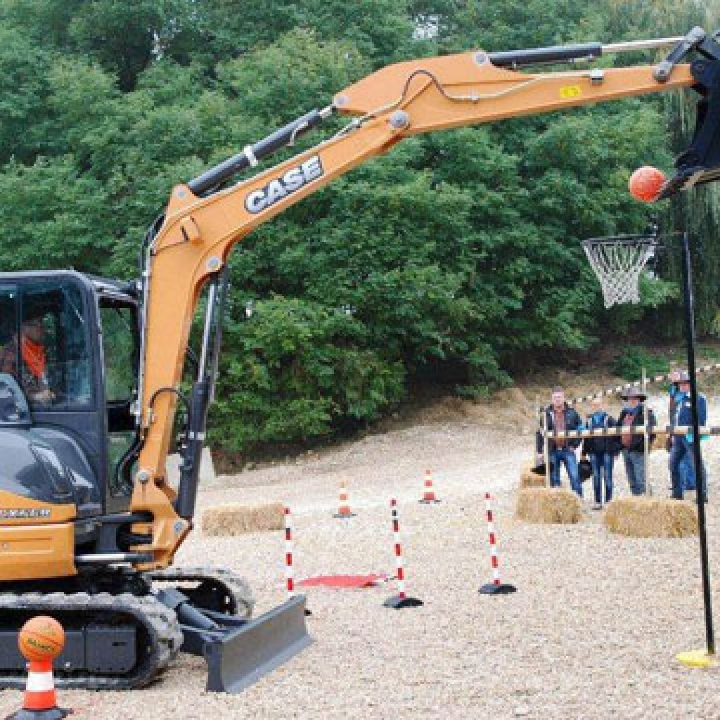 Caterpillar driving activity days