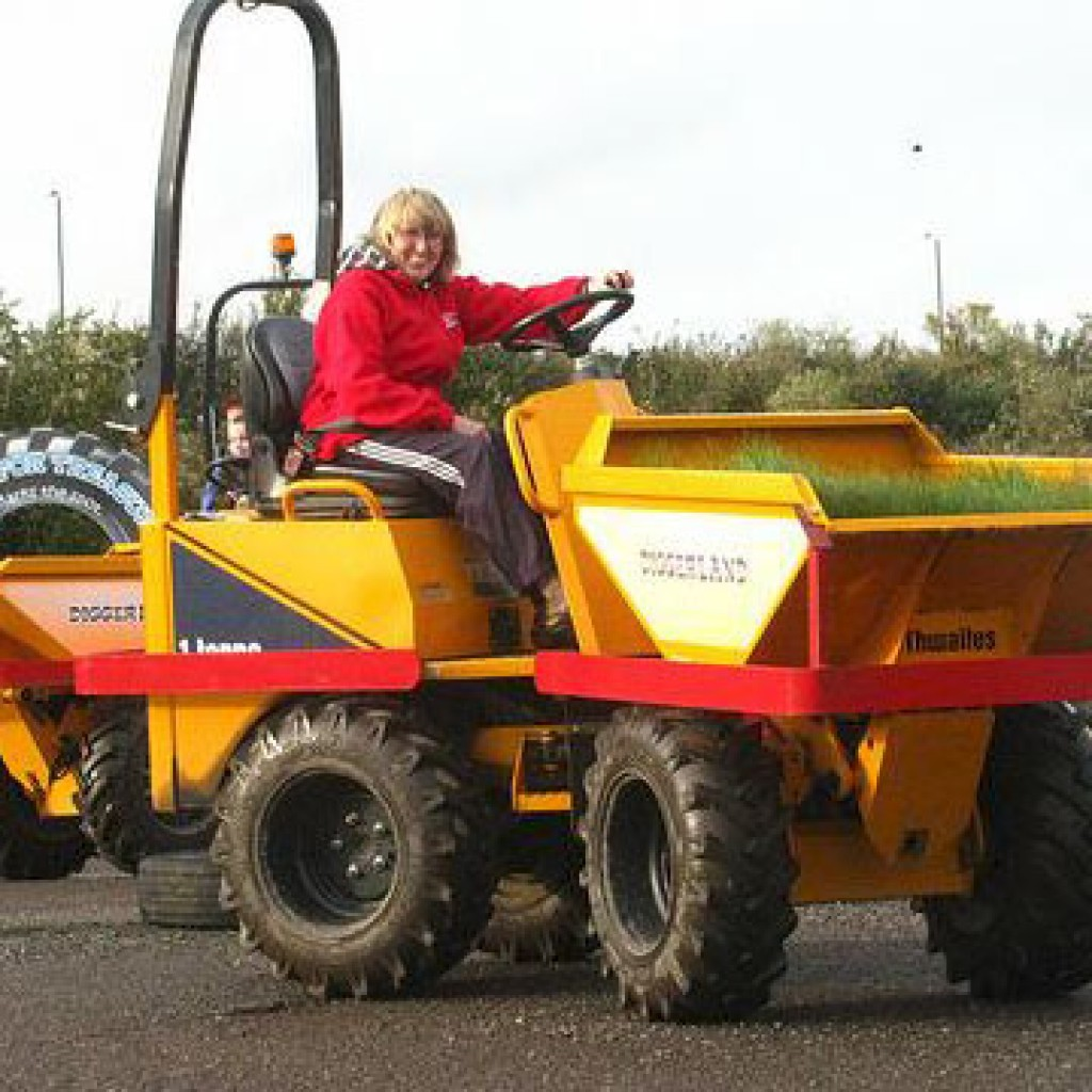 Dumper truck driving activity days