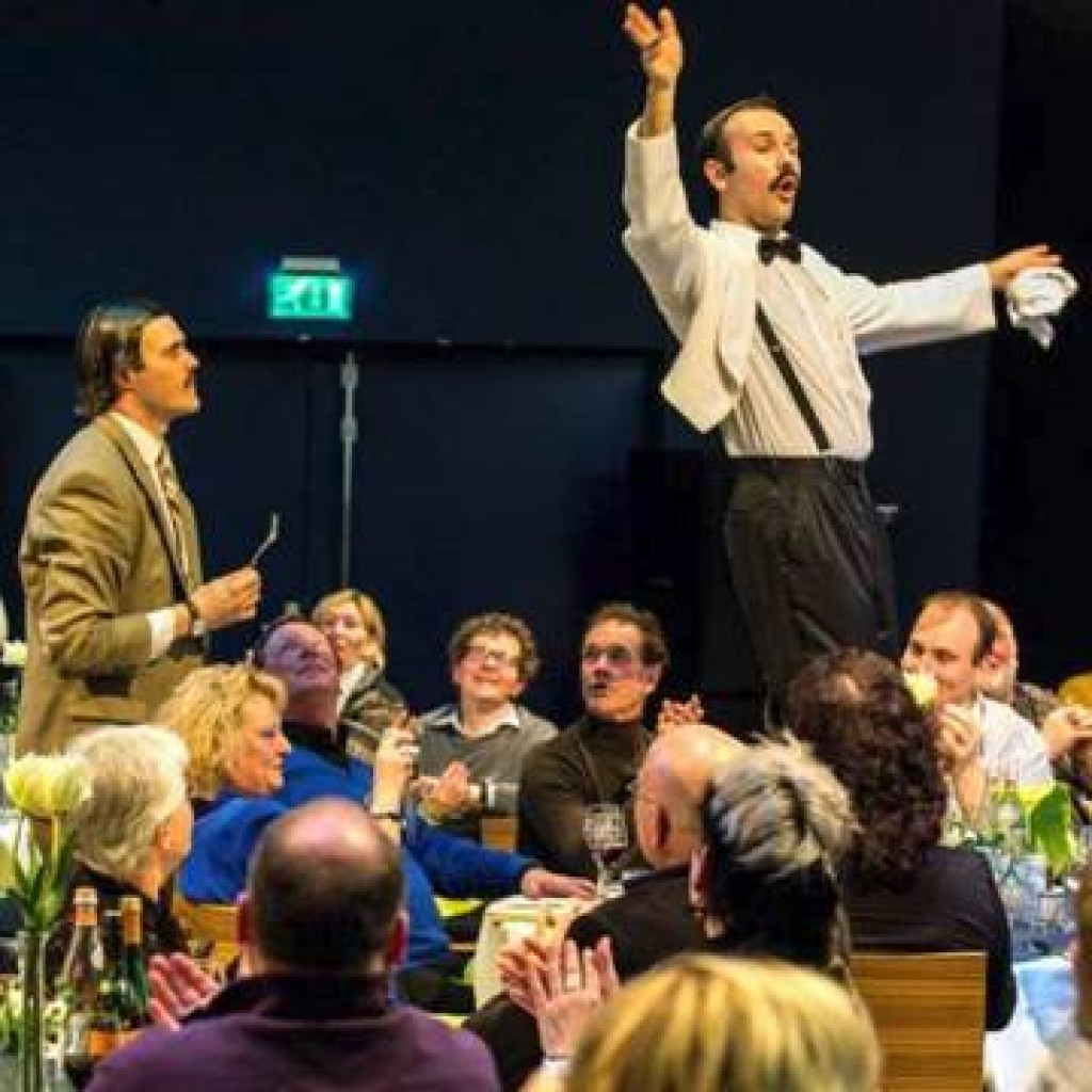 Fawlty Towers themed dinner 1