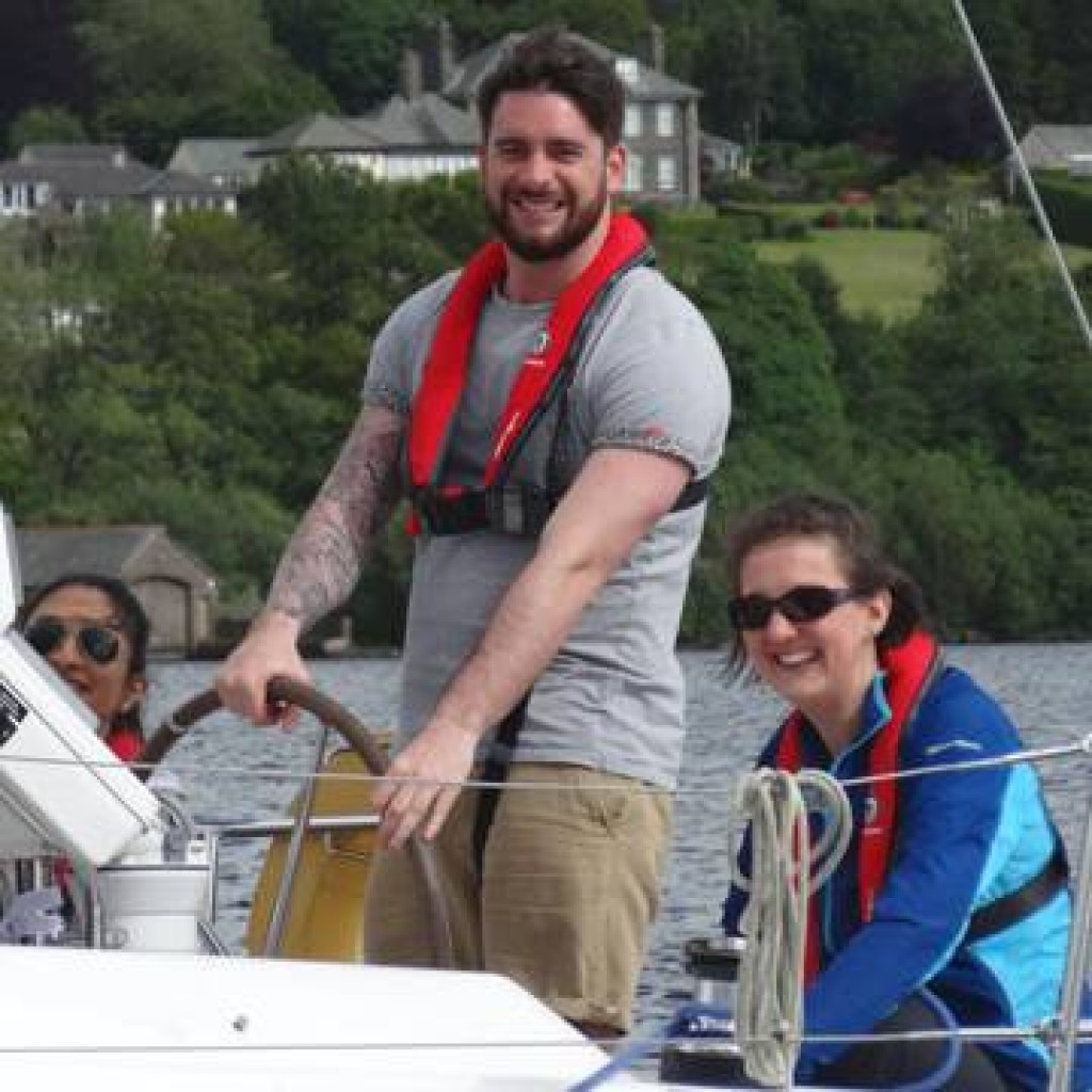 Sailing days out on Windermere 1