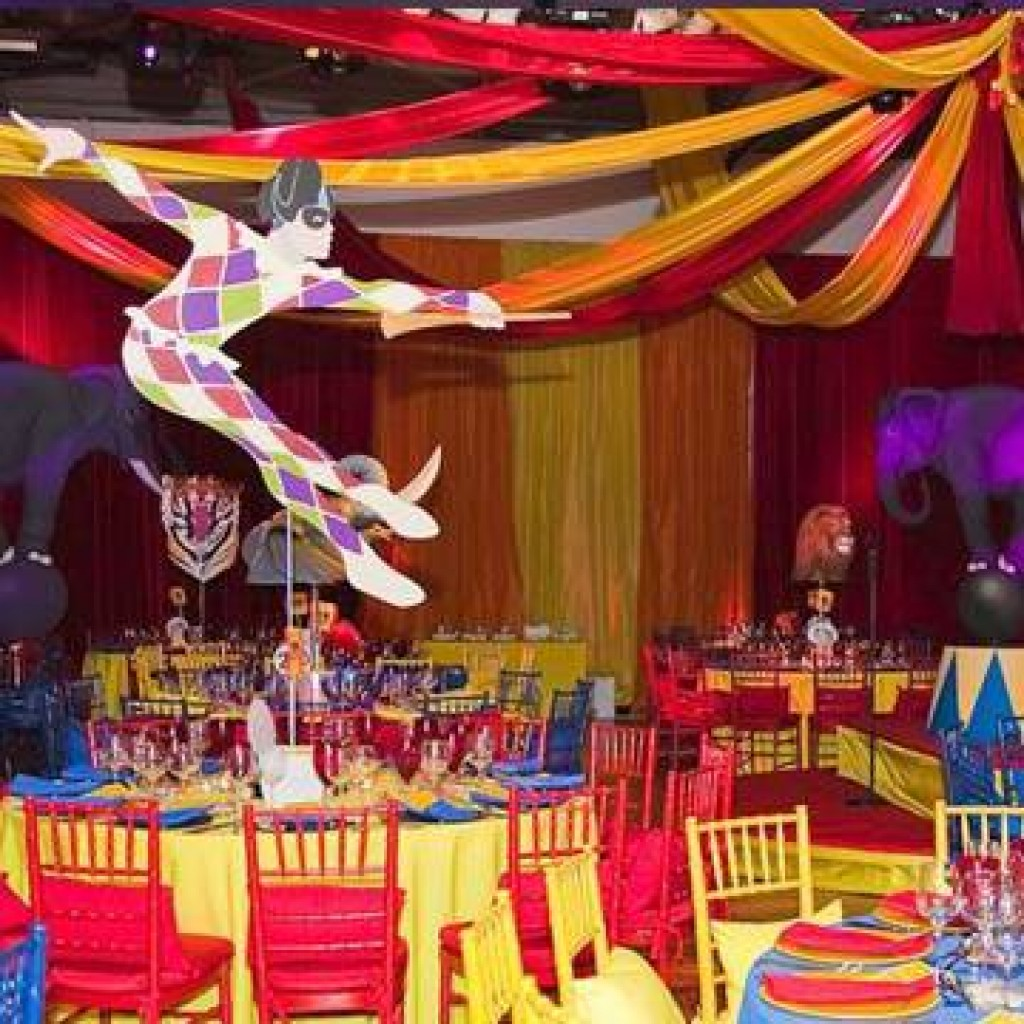 Themed Christmas parties - Moscow State Circus