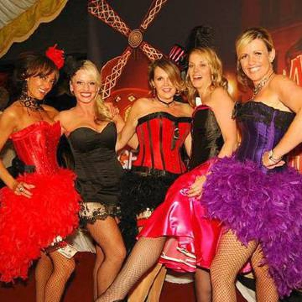 Themed Christmas parties - Moulin Rouge