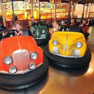 Indoor family fun days - Dodgems