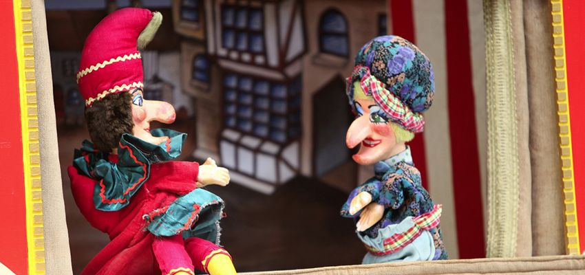 Indoor family fun days - punch and judy