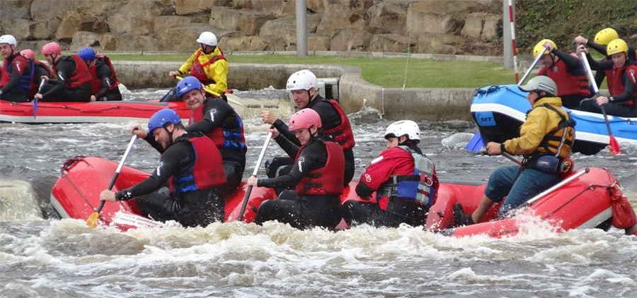 White water rafting and teambuilding 3