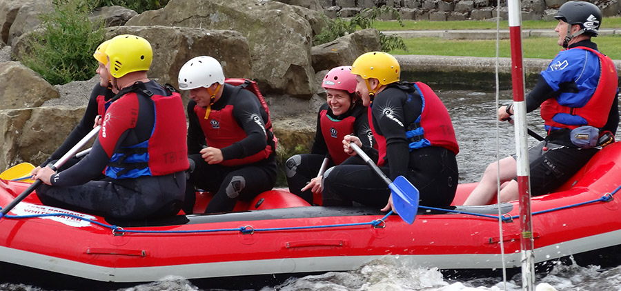 White water rafting and teambuilding 1