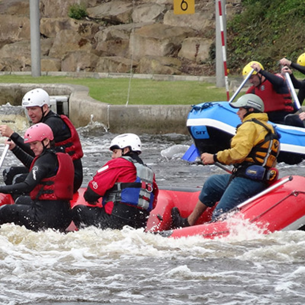 White water rafting and teambuilding 5